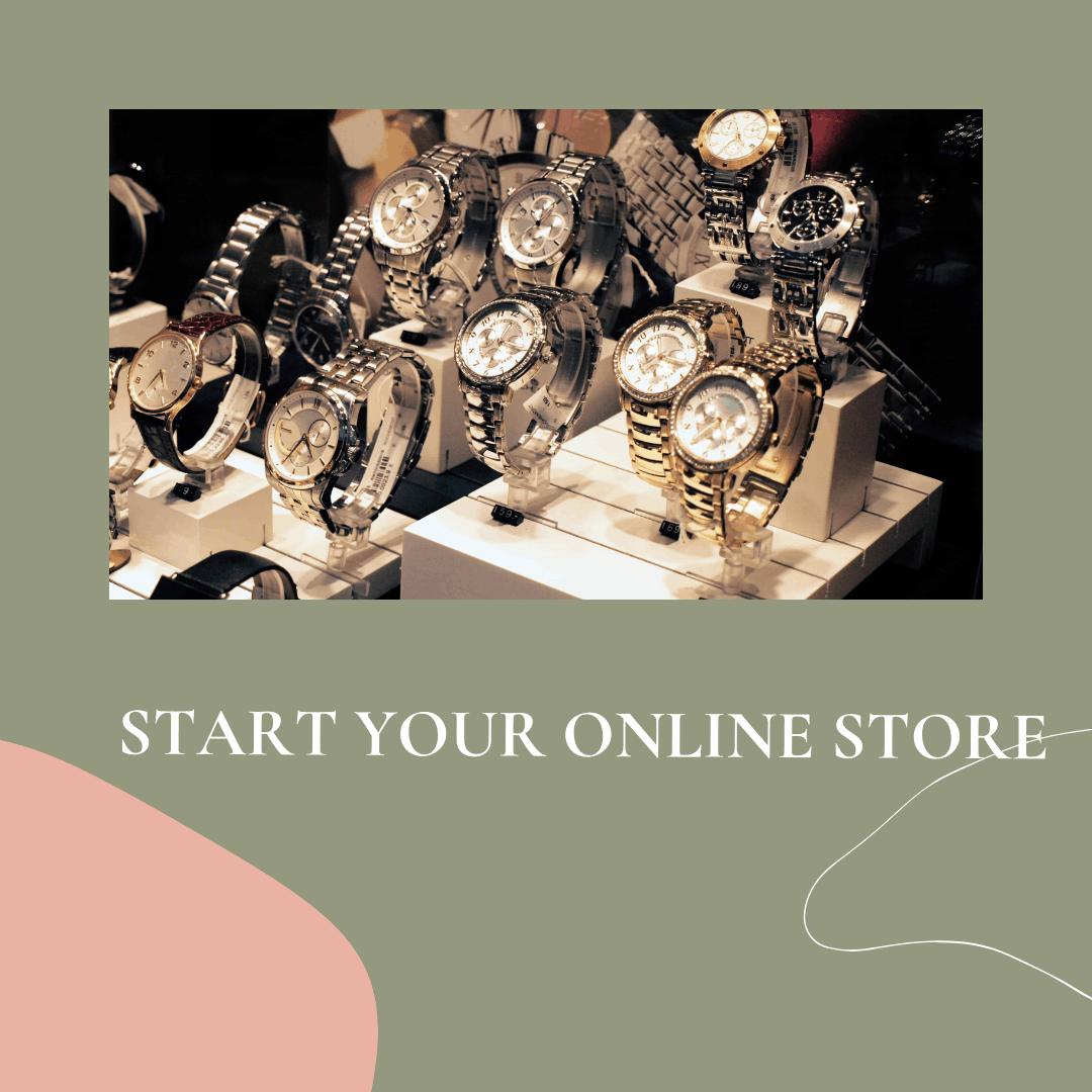 start a online store